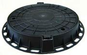 ЖБИ: кольца, плиты ПК, лотки, покрытия тоннелей,  люки чугун.,  полимерные. - foto 0